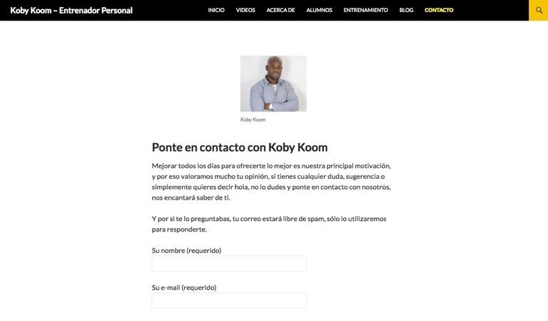 Koby Koom Contacto 1