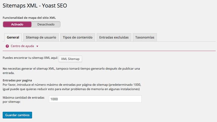 Yoast Seo Sitemaps Xml