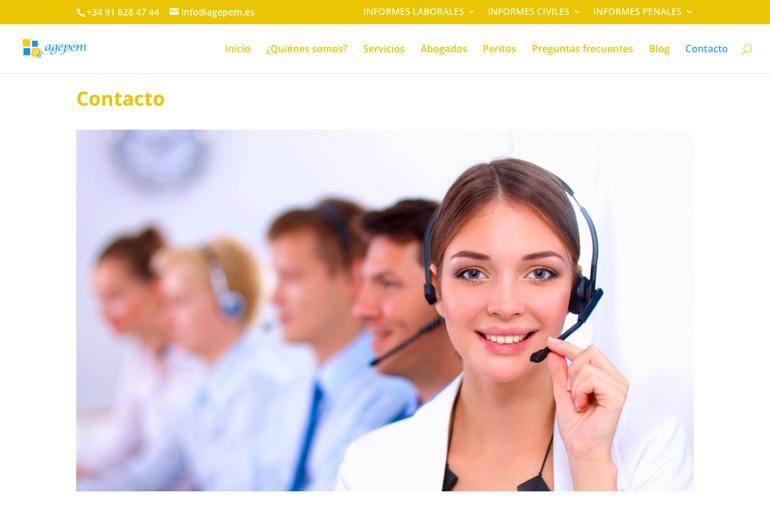 Agepem Contacto