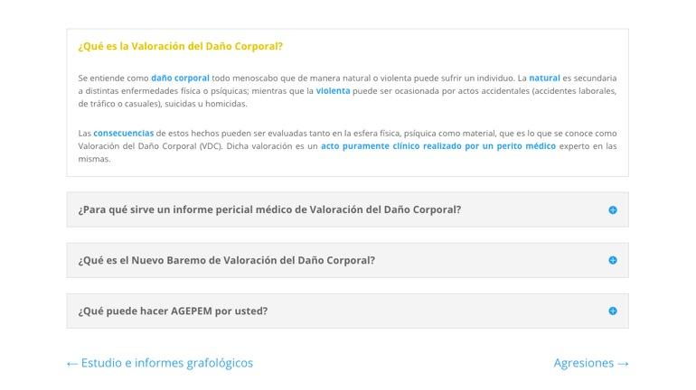 Agepem Informes Detalle