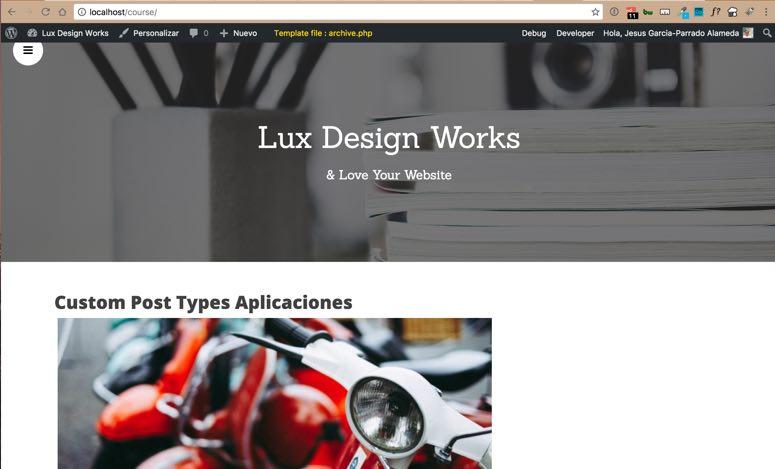 Lux Courses Index