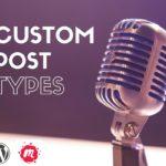 Charla Custom Post Types en WordPress