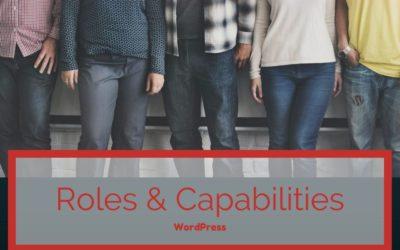 Roles de usuarios en WordPress