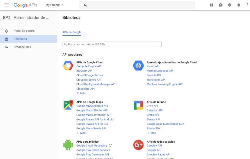 Google Apis Library