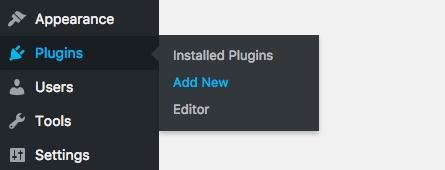 Nuevo Plugin WordPress