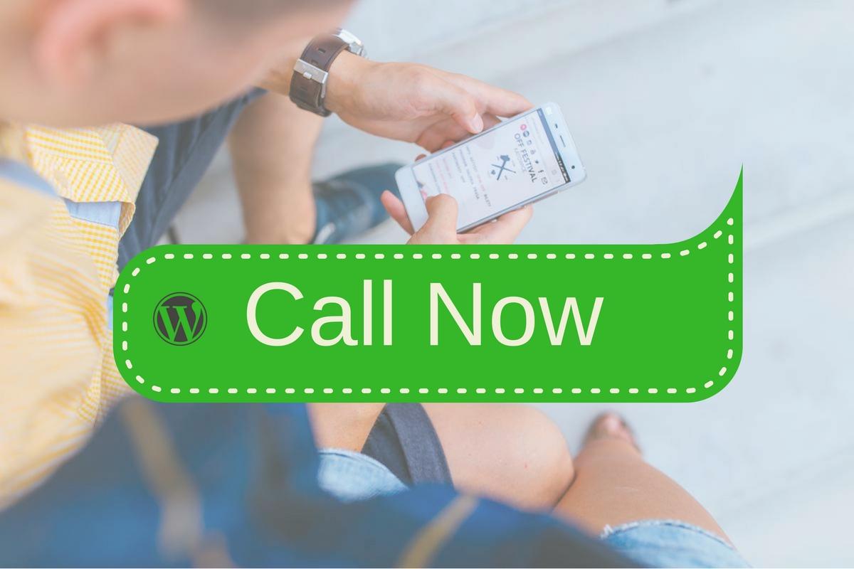 Cómo mostrar un botón de llamada en tu web WordPress