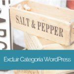 Cómo excluir una categoría del Blog de WordPress