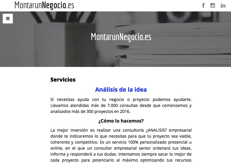 Montar Un Negocio Marketing Servicios