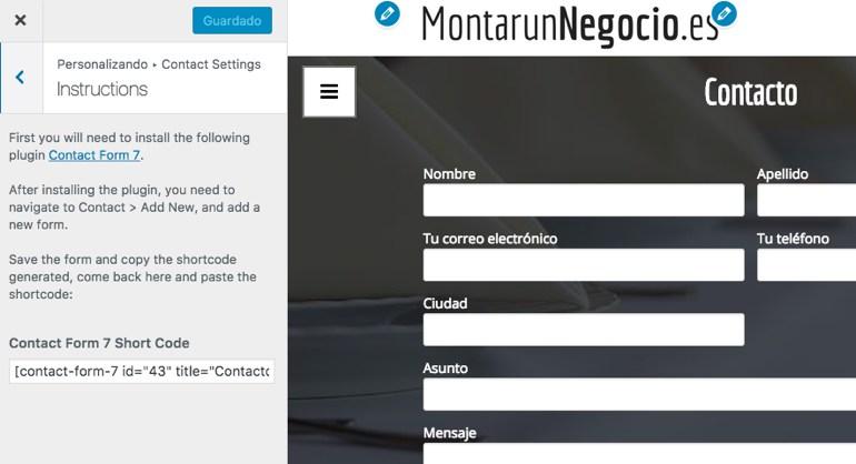 Montar Un Negocio Personalizador Contacto