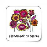 Handmade By Marta Logo